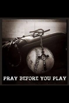 Not enough prayer! this is so true.I do this before my boys play their baseball games and football games. Put God before all things! No Crying In Baseball, Baseball Boys, Baseball Stuff, Travel Baseball, Baseball Memes, Baseball Crafts, Angels Baseball, Giants Baseball, Baseball Party