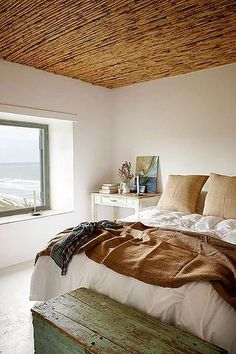 natural style bedroom | featured on my blog the style files | Flickr