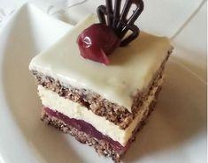 Zákusok Cherry dáma (fotorecept) - recept | Varecha.sk Tiramisu, Cherry, Food And Drink, Treats, Cooking, Cake, Ethnic Recipes, Sweet, Desserts