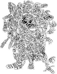 insane stencil art