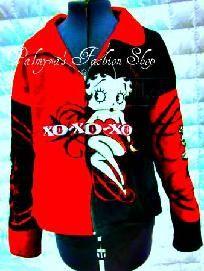 Red & Black Betty Boop Jacket
