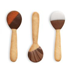 Cookie Spoons - use these not only to stir your coffee with but possibly to eat your desert with.