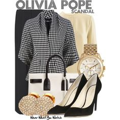 """Scandal"" by wearwhatyouwatch on Polyvore"