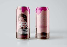 Raise A Glass To Great Women (Student Project) on Packaging of the World…