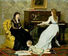 Gustave Leonard de Jonghe (1829 – 1893) – Pintor Belga_33