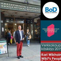 HC Wiki pääsi Bod osastolle haastatteluun uuden esikoiskirjan #vkk2019 johdosta Books On Demand, Broadway Shows