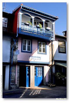 """BakeryStore in  Chaves  Portugal.            They make the best """"Pasteis de Chaves"""".  I could eat one right now!"""