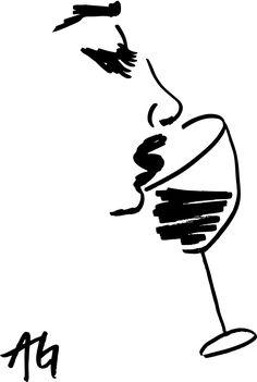 """""""Breath it in!"""" #wine #art"""
