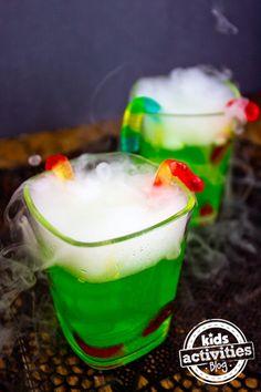 Halloween Party Drink - Spooky Fog Drinks