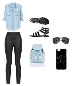 """""""Untitled #22"""" by arminaa7 ❤ liked on Polyvore featuring Rails, Armani Jeans, Sugarbaby and Yves Saint Laurent"""