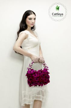 Cattleya - Flowers Love Brides. Floral Designer - Orit Hertz Model - Gal Barak Photographer - Shay Kedem Makeup - Orit Visel Hair - Umai Shitrit