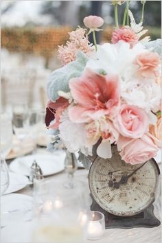 empty hearts — floralies: (via Angie Nick's wedding flowers by...