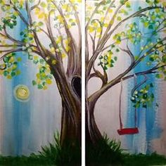 acrylic paint ideas canvas - - Yahoo Image Search Results