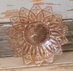 Check out this item in my Etsy shop https://www.etsy.com/listing/466036970/antique-pink-depression-glass-platter