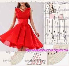 Group Patronat dresses 2015 tailoring and detail Sewing Dress, Dress Sewing Patterns, Diy Dress, Sewing Patterns Free, Sewing Clothes, Clothing Patterns, Diy Kleidung, Diy Vetement, Diy Fashion
