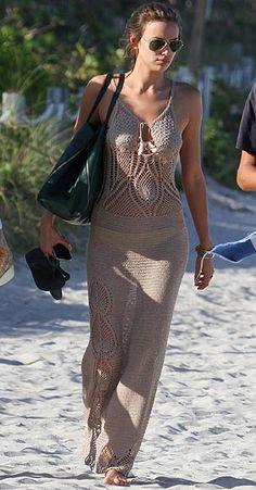 El estilo de las 'celebrities' en la playa -