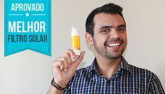 Bruno Figueredo ele o PhotoAge da Dermage o melhor filtro solar para os homens