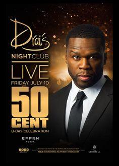 50 Cent at Drais Nightclub