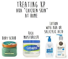 """Many people have never heard of Keratosis Pilaris (KP) (aka """"Chicken  Skin""""), but most of you know what it is."""