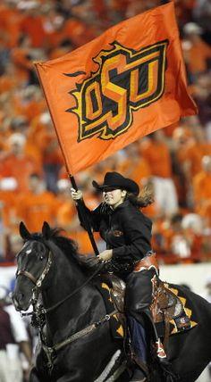 Here's Bullet - Oklahoma State Spirit Rider