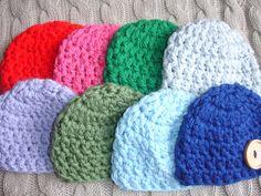 Cute+Customizable+Super+Chunky+Newborn+Hat+by+DiddleyDooCrochet,+$10.00