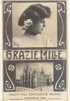 Expo amarcord, ecco l'album dell'edizione 1906 a Milano