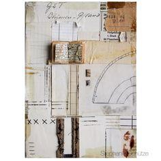 Vintage collage made by Stephanie Schütze inspired by Melinda Tidwell.
