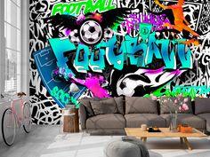 Tapeten - Fototapete 350x245 Graffiti i-A-0111-a-c - ein Designerstück von design4art bei DaWanda