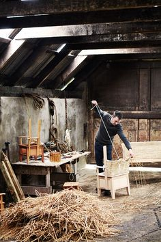 Kevin Gauld Orkney chair maker | Specialist Profile (houseandgarden.co.uk)