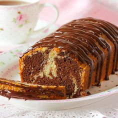 Swedish Recipes, Sweet Recipes, Cake Recipes, I Love Food, Good Food, Chocolate, Let Them Eat Cake, No Bake Cake, Banana Bread