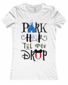 "Women's Disney ""Park Hop"" T-Shirt. Get Yours Today!!!"