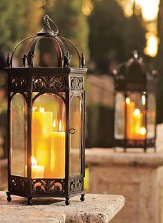 Make a lasting impression with these Renaissance Garden Lanterns.
