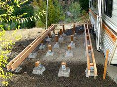 Building a deck for your Caravan / Travel_Trailer