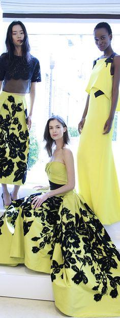 Carolina Herrera Gowns for Resort 2016 - Miss Millionairess's Boutique™
