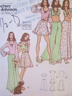 Vintage Butterick 6974 Sewing Pattern e51a67580