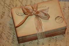 100 Vintage Post Card Wedding Place Card or by GreenAcresCottage, $49.00