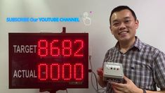 Production Display board l Production Counter Display Panel LED l LED Co...
