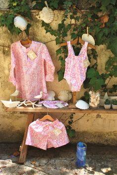trajes de baño y complementos