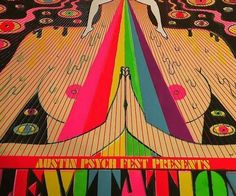 Texas Psychedelic Music Festival Poster