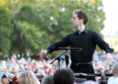 North Carolina Symphony Associate Conductor David Glover will lead the orchestra in 'Concerts in Your Community: Your Favorite Light Classics' at Tryon Palace.  Contributed photo/N.C. Symphony