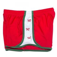 Candy Cane Lane Shorts ($45) ❤ liked on Polyvore featuring shorts