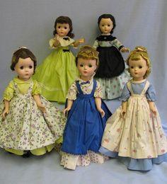 """Vintage Madame Alexander """"Little Women"""" 1954-1955"""