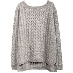 KISSING CABLE PULLOVER