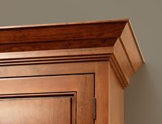CliqStudiosu0027 Traditional Crown Molding Offers A Time Honored Look With A  Contemporary Feel To · Kitchen Cabinet ...