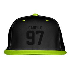 CABELLO Embroidered Snapback Hat