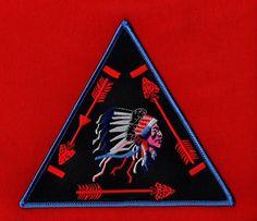 Oa Vigil Triangle Beaded Belt Buckle Order Of The Arrow