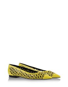 Would you wear these with a yellow jacket? lol. Pierre Hardy $895