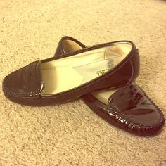 Black MICHAEL Michael Kors loafer Leather loafer with rubber sole. Worn a couple times. Not fit for my wider foot but still more comfortable than other MK shoes I've owned! Michael Kors Shoes Flats & Loafers