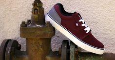 DC Shoes, DC mens shoes , DC Tonik Armor Oxblood