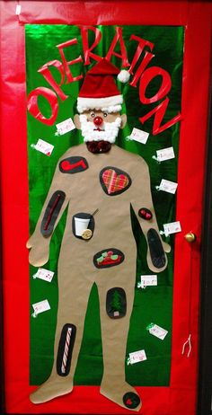 Ugly Sweater Door